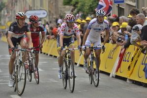 Tour de France 2012 arrivé étape Boulogne sur mer